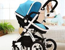 威可迪婴儿车品牌_避震折叠婴儿车_高景观婴儿车