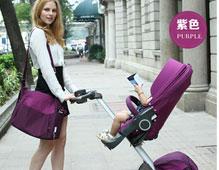 <b>dsland婴儿车品牌_高景观双向四轮婴儿车</b>