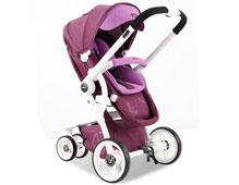 <b>威凯婴儿车品牌_�Q向互动高景观婴儿车</b>