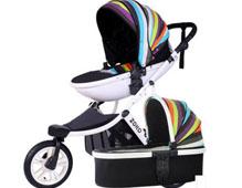 <b>zoko婴儿车品牌_避震三轮高景观婴儿车</b>