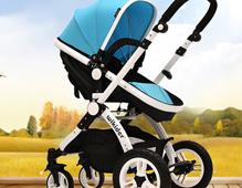 wikider婴儿车品牌_安全避震婴儿车_双向四轮婴儿车