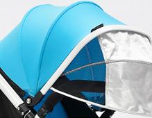 婴儿推车遮阳篷是半篷的好还是全篷的好?