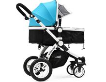 wikider婴儿车怎么装 wikider婴儿车安装使用方法
