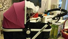 宝宝刚出生可以平躺婴儿车?