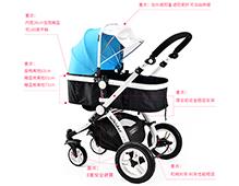 婴儿推车哪款性价比高 安全避震实用