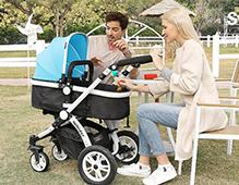 可坐可躺的婴儿车多大可以用