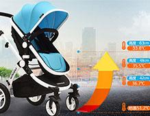 夏天婴儿车什么样的好 避震透气舒适的