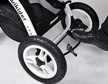 婴儿推车车轮什么材质的好