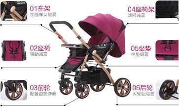 选择亿宝莱婴儿车品牌