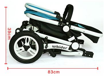 威可迪婴儿车一键式折叠