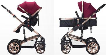 TEKNUM婴儿车坐躺状态