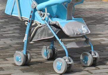 小阿龙婴儿车车架