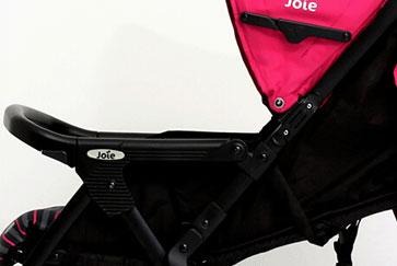 Joie巧儿婴儿车靠背透气网布设计