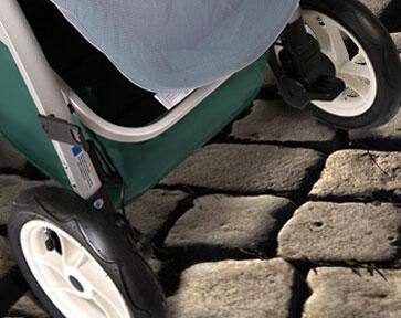 Anglebay婴儿车充气轮,避震效果好!