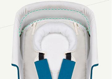 Anglebay婴儿车固定头枕防止偏头