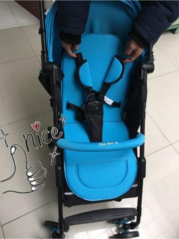 多美特婴儿车五点式安全带