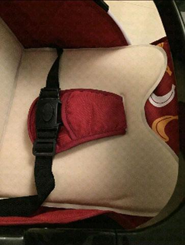 圣得贝婴儿车安全带
