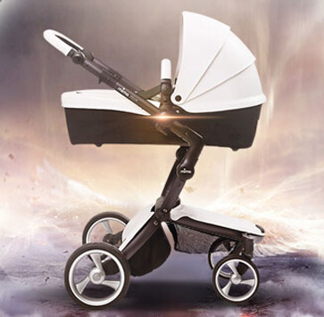 mima婴儿车软避震效果
