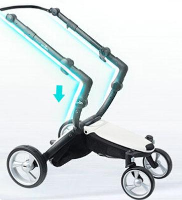 mima婴儿车车架避震