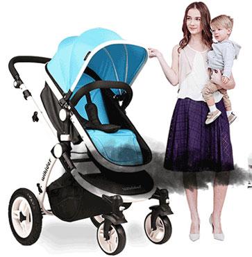 选择宝宝推车关键还是安全性能
