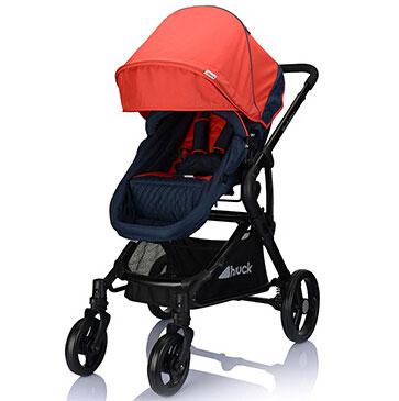 hauck婴儿车120°座椅模式
