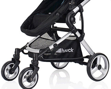 hauck婴儿车实心轮胎