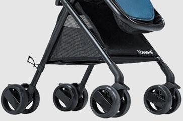 ibelieve婴儿车前后轮