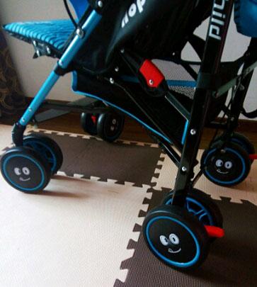 呵宝婴儿车刹车装置