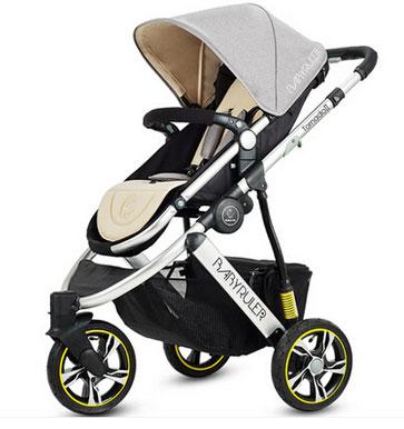 高景观婴儿车十大排名:babyruler高景观婴儿车