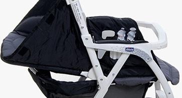 chicco婴儿车睡篮状态