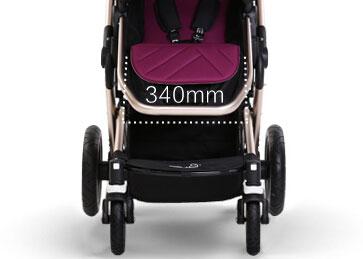 咕比婴儿车座椅舒适