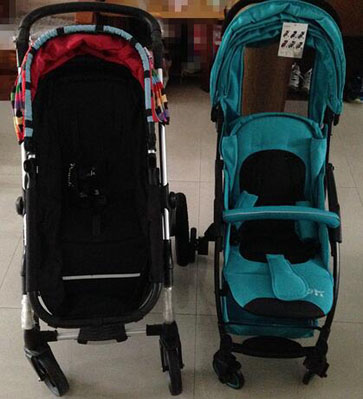 bair婴儿车和别的婴儿车对比