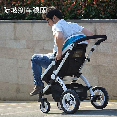 威可迪婴儿车刹车性能