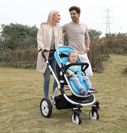 高端婴儿车,推车带宝宝出游