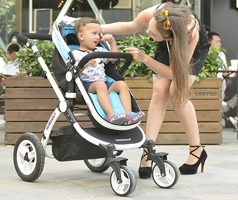 高景观婴儿车