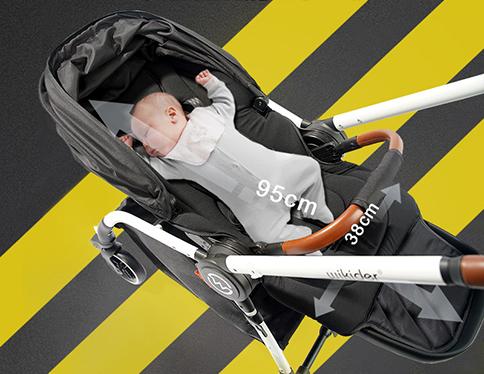 婴儿推车平躺