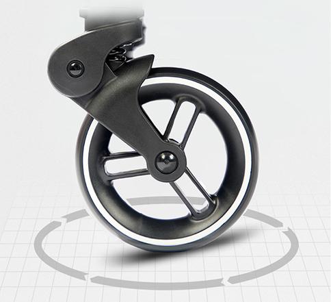 婴儿推车pu轮子