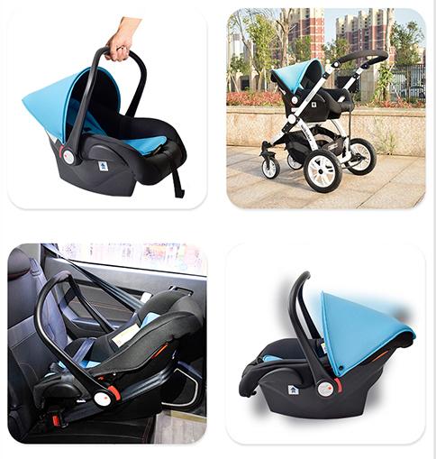 婴儿车安全提篮的作用