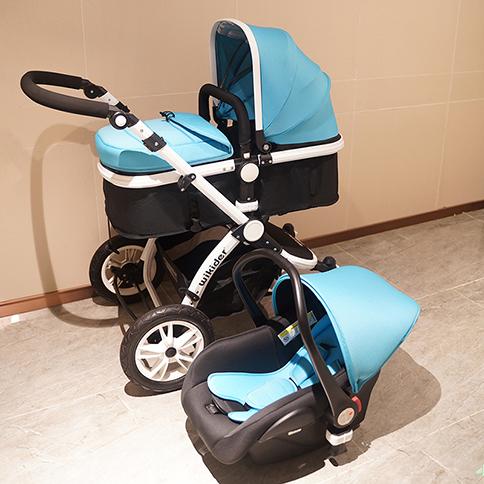 婴儿车安全提篮三合一